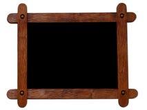 Marco de madera fotos de archivo