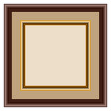 Marco de madera Imagen de archivo libre de regalías