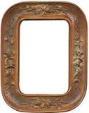 Marco de madera antiguo fotografía de archivo
