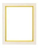 Marco de madera artístico Imágenes de archivo libres de regalías