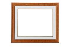 Marco de madera clásico Imagen de archivo libre de regalías