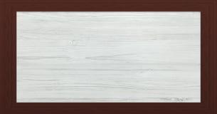 Marco de madera con el viejo fondo Marco de madera grande Viejo marco vacío de madera del granero Viejo marco aislado en fondo Fotos de archivo libres de regalías