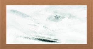 Marco de madera con el viejo fondo Marco de madera grande Viejo marco vacío de madera del granero Viejo marco aislado en fondo Imagen de archivo libre de regalías