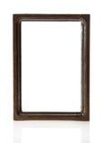 Marco de madera de Brown para las imágenes o las fotos stock de ilustración