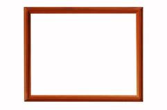 Marco de madera de la foto Fotografía de archivo libre de regalías