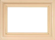 Marco de madera de la foto imágenes de archivo libres de regalías