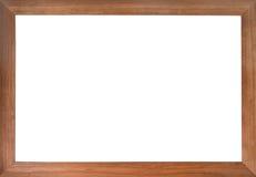 Marco de madera de la foto Foto de archivo