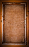 Marco de madera de la vendimia Fotografía de archivo libre de regalías