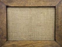 Marco de madera de la vendimia Imágenes de archivo libres de regalías
