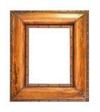 Marco de madera en negrilla Imagenes de archivo