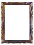 Marco de madera laqueado para un cuadro Foto de archivo libre de regalías