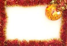 Marco de Navidad Fotos de archivo