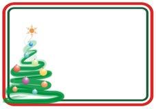 Marco de Navidad ilustración del vector