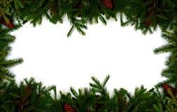 Marco de Navidad Fotografía de archivo