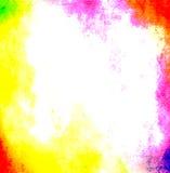 Marco de neón vibrante de Grunge Fotografía de archivo