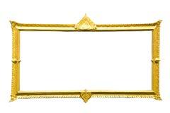 Marco de oro Imagenes de archivo