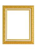 Marco de oro. Fotografía de archivo libre de regalías