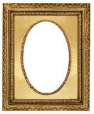 Marco de oro Imagen de archivo libre de regalías