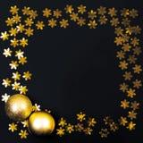 Marco de oro Foto de archivo libre de regalías