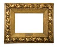 Marco de oro antiguo Imágenes de archivo libres de regalías