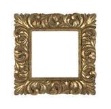 Marco de oro barroco Foto de archivo libre de regalías
