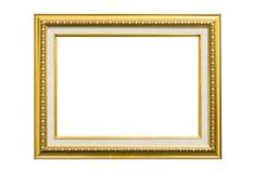 Marco de oro de la vendimia Imagenes de archivo