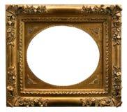 Marco de oro del arte Fotografía de archivo