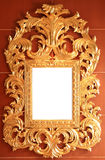 Marco de oro del vintage Fotografía de archivo