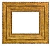 Marco de oro de la vendimia fotografía de archivo libre de regalías