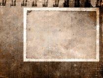 Marco de papel de la vendimia ilustración del vector