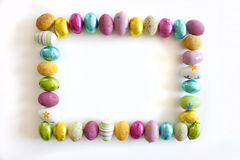 Marco de Pascua Fotos de archivo