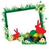 Marco de Pascua Foto de archivo libre de regalías