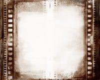 Marco de película de Grunge Fotografía de archivo