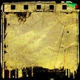 Marco de película del Grunge Fotografía de archivo libre de regalías