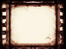 Marco de película del Grunge con el espacio para el texto o la imagen Imagen de archivo