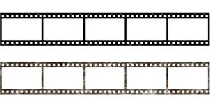 marco de película 5x viejo Fotografía de archivo