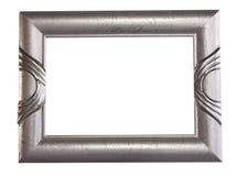 Marco de plata Imágenes de archivo libres de regalías