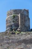 Marco de san da paisagem dos tharros de Sardinia Foto de Stock Royalty Free