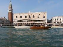 Marco de san da praça de Veneza Imagem de Stock