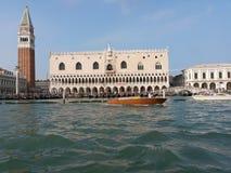 Marco de san da praça de Veneza Imagem de Stock Royalty Free