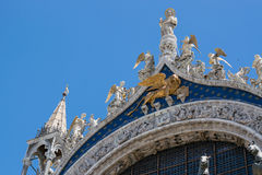 Marco de San en Venecia Fotografía de archivo