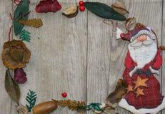 Marco de Santa Klaus Imagen de archivo libre de regalías