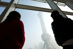 Marco de Shanghai Imagens de Stock