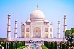 Marco de Taj Mahal na Índia Imagem de Stock Royalty Free