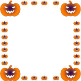 Marco de tarjeta de Halloween Stock de ilustración