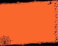 Marco de tarjeta de Halloween Fotos de archivo libres de regalías