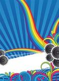 Marco de texto colorido Foto de archivo libre de regalías