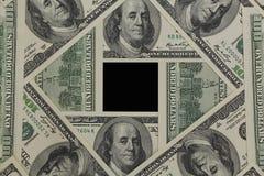 Marco de USD Imagen de archivo
