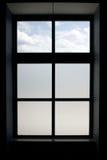 Marco de ventana Imágenes de archivo libres de regalías