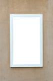 Marco de ventana blanco Imagen de archivo libre de regalías
